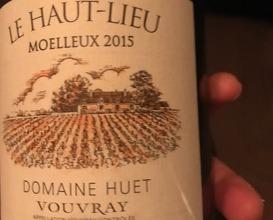 Domaine Huet Le Haut-Lieu' Moulleux, Vouvray, Loire Valley, France 2015