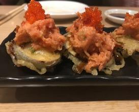 Dinner at Sushi Ota