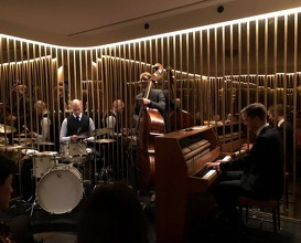 Jazz dinner at Restaurant Alouette