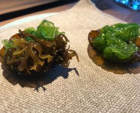 fresh seavweeds
