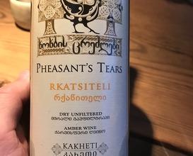 2016 Rkatsiteli Pheasant's Tears - Kakheti