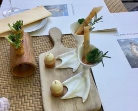 Dinner at Les Prés d'Eugénie - Michel Guérard