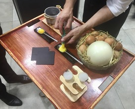 Truffle infused egg yolk