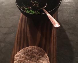 Dinner at Ekstedt