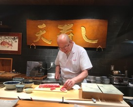 Lunch at 天寿し 京町店