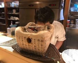 Dinner at Sakagawa (ぎおん 阪川)