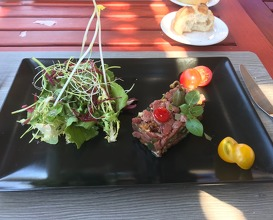 Tartare of lamb (hand cut)