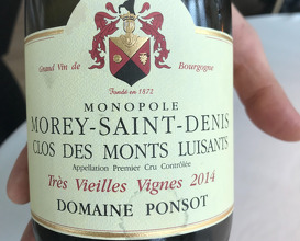 2014 Clos Des Monts Luisants VV, Morey-Saint-Denis, Domaine Ponsot, Bourgogne, Frankrig
