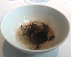 The Mushroom King with Blackberries, Hazelnuts & Truffle Seaweed