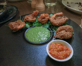 Dinner at Aba
