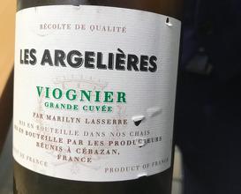 Les Argelières Viognier 2016