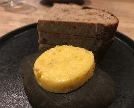 Sourdough bread with miso soup