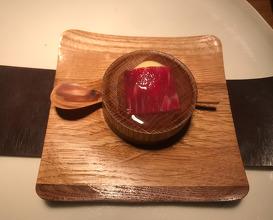 Swedish wagyu, corn from Skilleby farm & potato soy