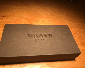 Dinner at Oaxen Krog
