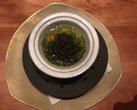 chawanmushi, frantzén prestige caviar, aged pork broth