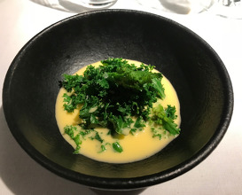 Kale with Beurre Blanc