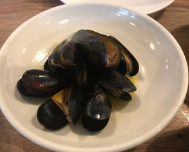 Grilled Mussels & Cider Butter