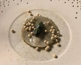 FÖRDE GARNELE Lardo | Kaviar | Auster