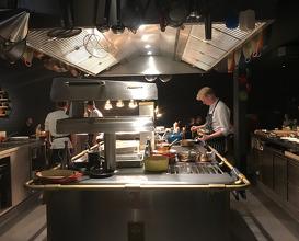Dinner at 100/200 Kitchen