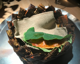 reindeer feast: brain pie