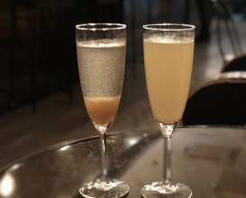 Bellini and Mimosa