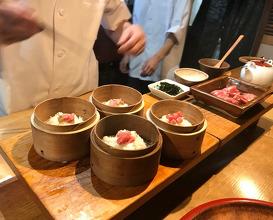 Dinner at Matsu (天ぷら 松)