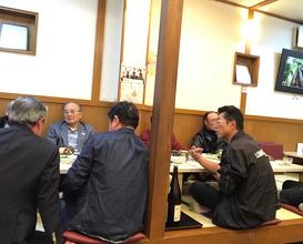 Dinner at とんかつ川久 ( Kawakyu)