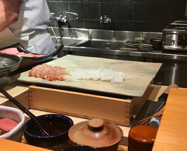 Lunch at Tenzushi Kyomachi (天寿し 京町店)