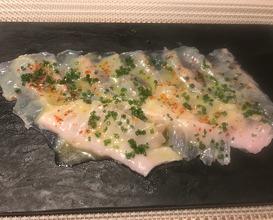 """HOKKAIDO """"MATSUKAWA GAREI"""" (flounder) WHITE TRUFFLE"""