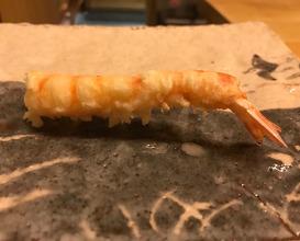Dinner at Tempura Koizumi