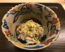 Snow crab orgie in Kanazawa, dinner at 片折 Kataori