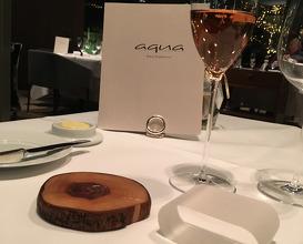 Dinner at Aqua