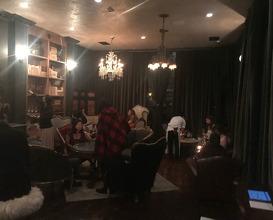 Drinks at Bar Crenn