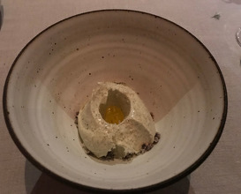 Seaweed ice cream walnut, cocoa from boonville