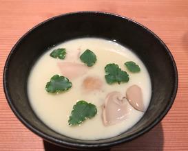 Kona Abalone Custard, Matsutake