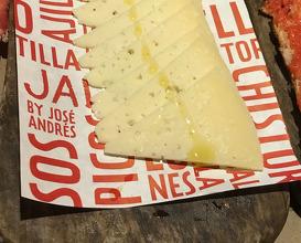 Plato de queso Manchego Pasamontes