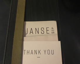Lunch at Janse & Co