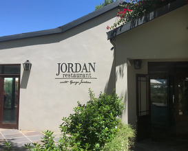 Lunch at The Jordan Restaurant with George Jardine