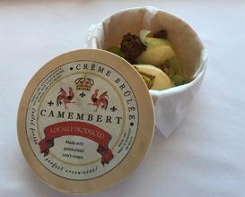 Camembert Crème Brûulée curry candied walnut, celery