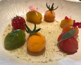 La tomate plurielle glacée à la menthe bergamote menthe véglisse, buddha amacha et sauge