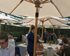 Lunch at Hof van Cleve
