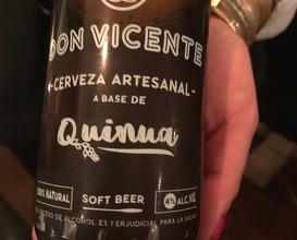 Cerveza rubia artesanal Agüajina