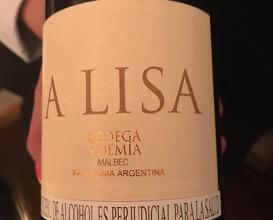 A Lisa, Noemía, Malbec, Patagonia, Argentina Guandolo