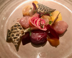 Beets diversity with tiger trout & eucalyptus