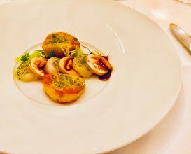 Dinner at Waldhotel Sonnora
