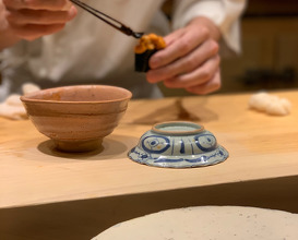 Breakfast at Sushi Saito