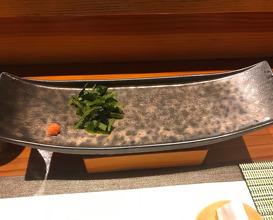 Dinner at Sushisho Nomura