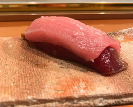 Otoro akami combination nigiri