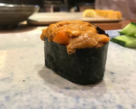 Dinner at the Master Amano-san, Tenzushi in Kokura