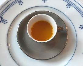 時令兩小碟特色暖胃湯 Chaozhou Snack, Chef's Espresso